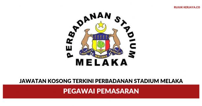 Perbadanan Stadium Melaka ~ Pegawai Pemasaran