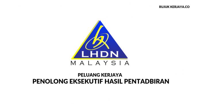 Permohonan Jawatan Kosong LHDN 2019 di Buka