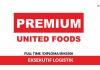 Premium United Foods ~ Eksekutif Logistik