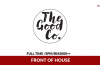 The Good Co. ~ Front of House