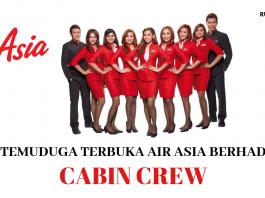 Temuduga Terbuka Cabin Crew AirAsia Berhad