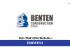 Benten Construction ~ Dispatch