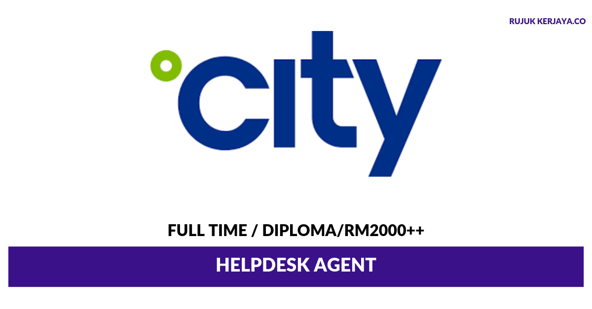 City Facilities Management ~ Helpdesk Agent