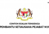 Contoh Soalan Temuduga Pembantu Setiausaha Pejabat N19