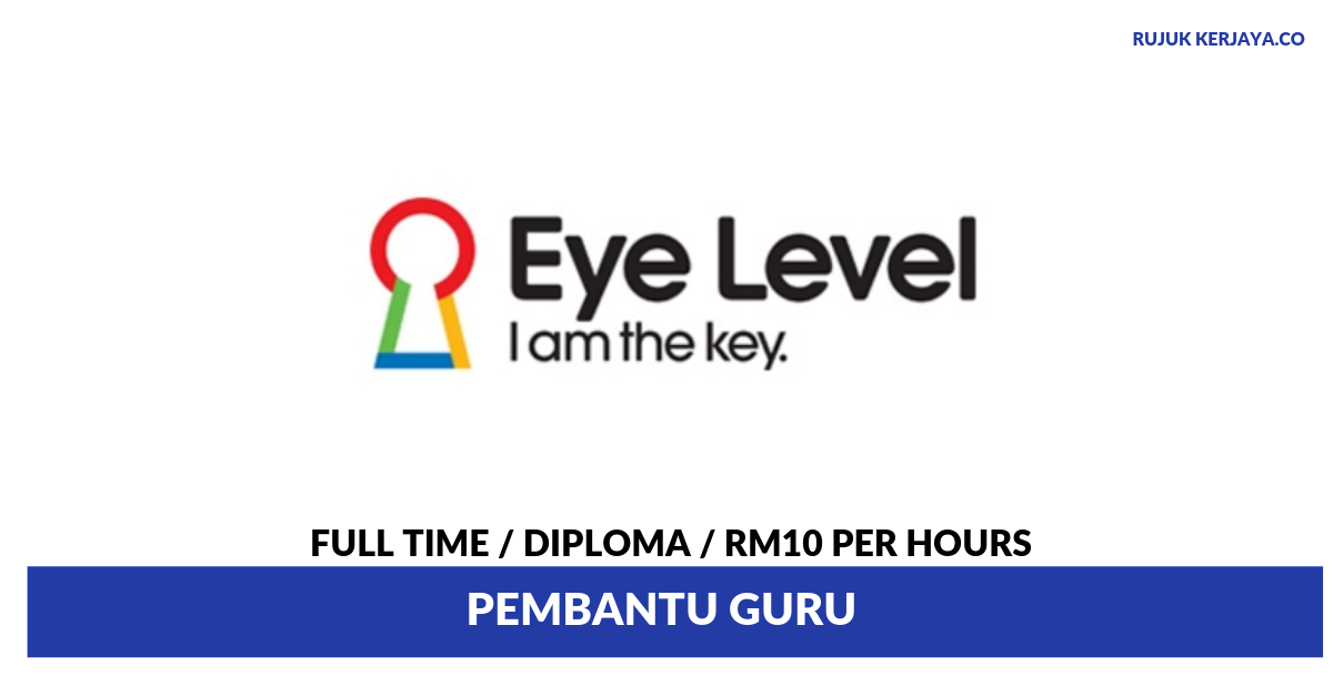 Eye Level SS2 ~ Pembantu Guru