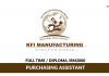 KFI Manufacturing ~ Purchasing Assistant