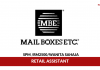 Mail Boxes Etc ~ Retail Assistant
