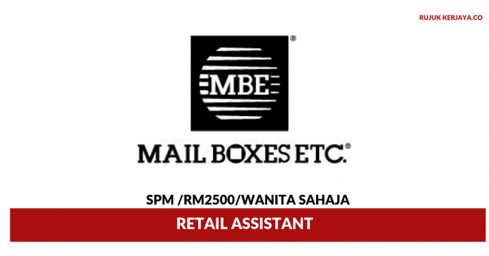 Mail Boxes Etc ~ Retail Assistant
