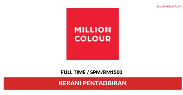 Millioncolour Display ~ Kerani Pentadbiran