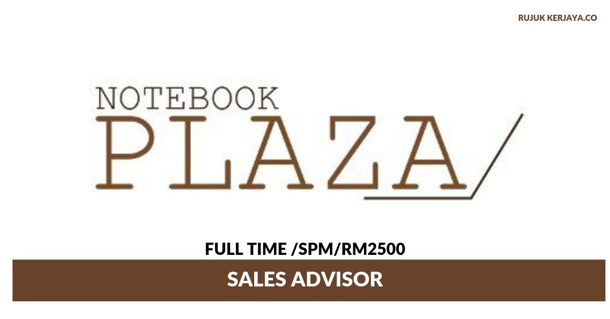 Notebook Plaza ~ Sales Advisor