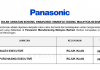 Panasonic Industrial Device Sales ~ Sales & Purchasing Executive