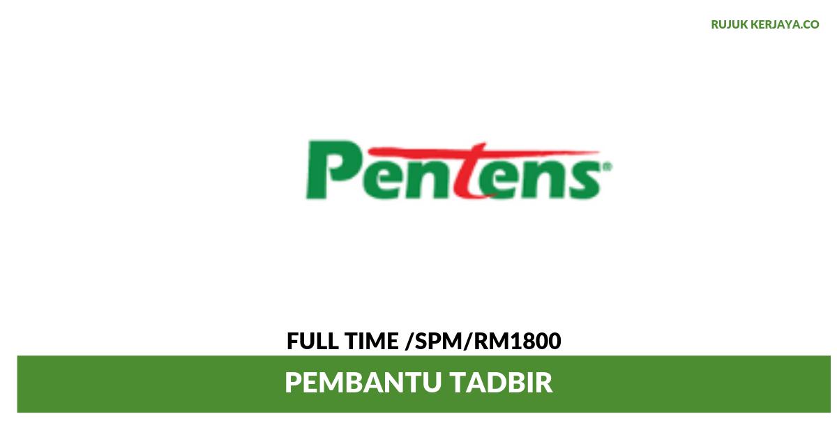 Pentens Holdings Sdn Bhd 1 Kerja Kosong Kerajaan
