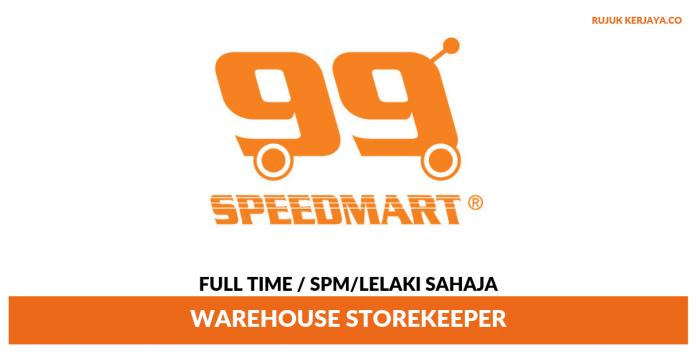 99 Speed Mart ~ Warehouse Storekeeper