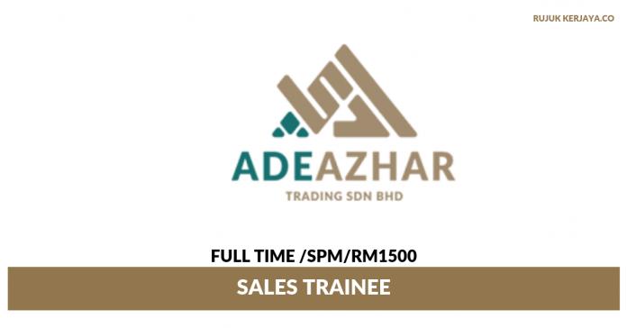 Ade Azhar Trading ~ Sales Trainee