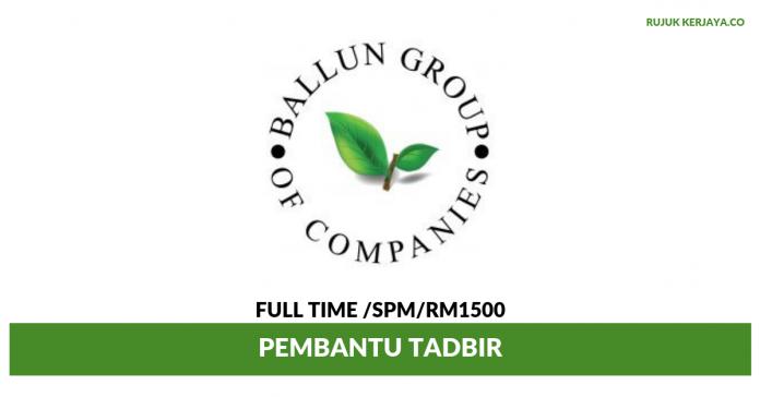 Ballun Resources ~ Pembantu Tadbir