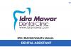 Idramawar ~ Dental Assistant