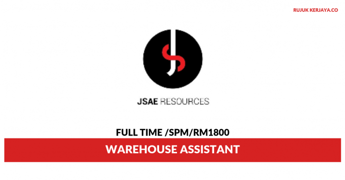 JSAE Resources ~ Warehouse Assistant