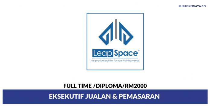 Leapspace Training Centre ~ Eksekutif Jualan & Pemasaran