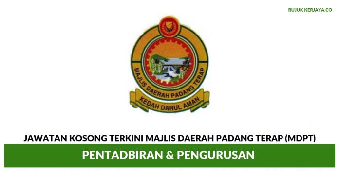 Majlis Daerah Padang Terap (MDPT) ~ Pentadbiran & Pengurusan