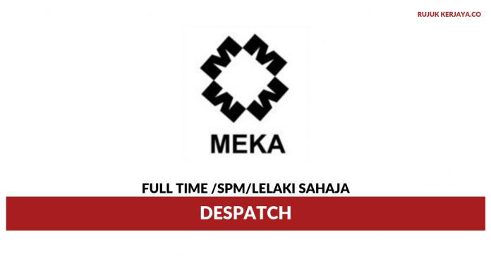 Meka Machinery Part Supply ~Despatch