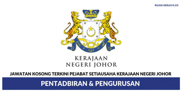 Pejabat Setiausaha Kerajaan Negeri Johor ~ Pentadbiran & Pengurusan
