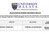 Permohonan Jawatan Pegawai Tadbir Universiti Malaya