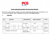 Pos Malaysia Berhad ~ Posmen / Kurier / Pemandu Lori dan Van