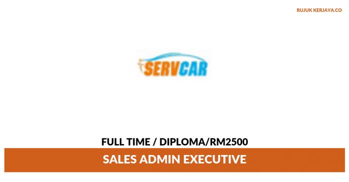 Servcar Resources ~ Sales Admin Executive