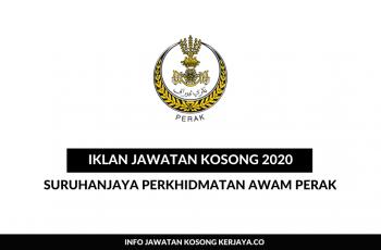 Suruhanjaya Perkhidmatan Awam Perak (SPA Perak) ~ Penolong Pegawai Pertanian, Penolong Pegawai Tanah & Pelbagai Jawatan