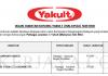 Yakult (Malaysia) ~ Pelbagai Kekosongan Jawatan