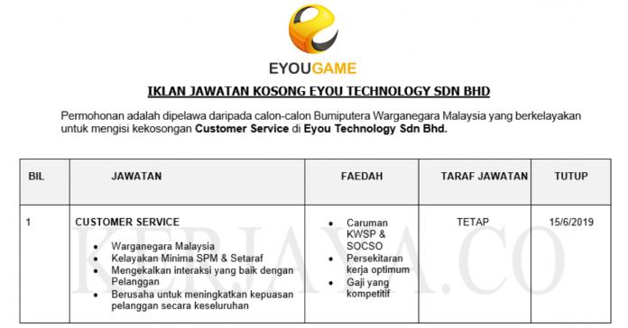 Eyou Technology ~ Customer Service