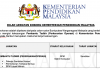 Jawatan Kosong Pembantu Tadbir (Perkeranian_Operasi) Kementerian Pendidikan Malaysia