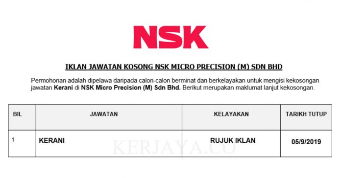 NSK Micro Precision (M) Sdn Bhd