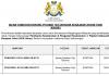 Pejabat Setiausaha Kerajaan Johor ~ Pembantu Keselamatan & Pengawal Keselamatan