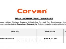 Corvan Asia ~ Admin Executive