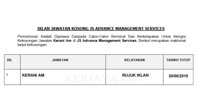 JS Advance Management Services ~ Kerani Am