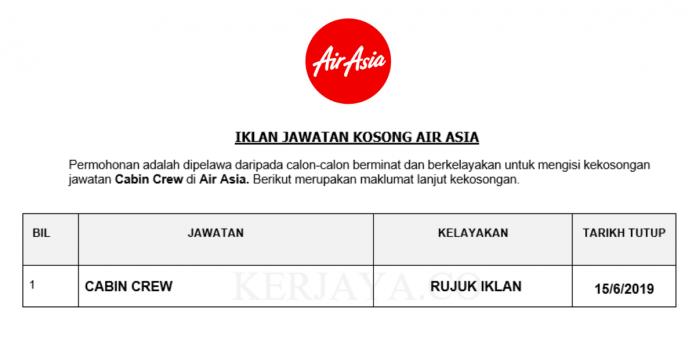 Cabin Crew Air Asia