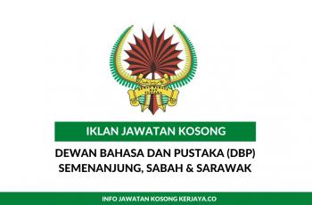 Jawatan Kosong Dewan Bahasa dan Pustaka (DBP)