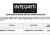 Jawatan Kosong Institut Integriti Malaysia