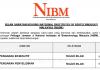 National Institutes of Biotechnology Malaysia (NIBM) ~ Pengarah Eksekutif & Pengarah Penyelidikan