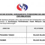 Jawatan Kosong Terbaru SPA Malaysia