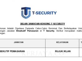 T Security ~ Eksekutif Pemasaran