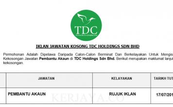 TDC Holdings Sdn Bhd
