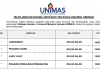 Universiti Malaysia Sarawak (UNIMAS) ~ Jururawat, Pegawai Sains & DLL