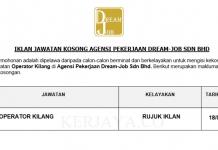 Agensi Pekerjaan Dream-Job ~ Operator Kilang