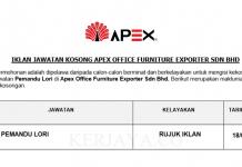 Apex Office Furniture Exporter ~ Pemandu Lori
