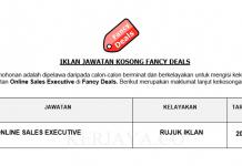 Fancy Deals ~ Online Sales Executive