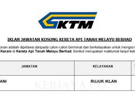 Kereta Api Tanah Melayu Berhad ~ Kerani
