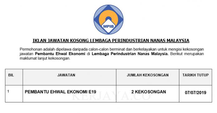 Lembaga Perindustrian Nanas Malaysia ~ Pembantu Ehwal Ekonomi