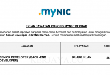 MYNIC Berhad ~ Senior Developer